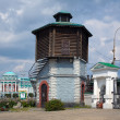 Stock Photo: Old Water tower in Yekaterinburg, Russia