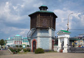 Old Water tower in Yekaterinburg, Russia — Stock Photo