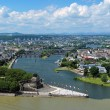 Panorama of Koblenz, Germany — Stock Photo #17204289