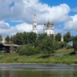 Trinity cathedral in Verkhoturye, Russia — Stock Photo #17680711