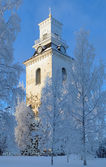 Kuopio Cathedral in winter, Finland — Stock Photo