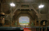 Interior of the Kiruna Church, Sweden — Stock Photo