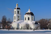 Orthodox church in Tsaritsyno, Moscow, Russia — Stock Photo
