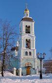 Kerk van pictogram van onze dame in tsaritsyno, moskou, rusland — Stockfoto