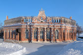 Second Cavalier's Building in Tsaritsyno, Moscow — Foto de Stock