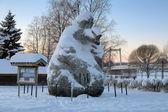 Giant Jorm from the swedish movie Dunderklumpen! in Stromsund — Stockfoto