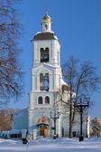 Chiesa dell'icona della madonna in tsaritsino, mosca, russia — Foto Stock
