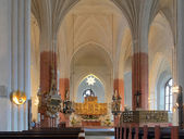 Interior of the Vasteras Cathedral, Sweden — Stock Photo
