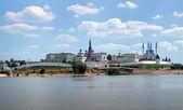 View of the Kazan Kremlin, Republic of Tatarstan, Russia — Stock Photo