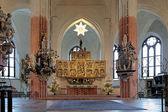 Altaar van de kathedraal van vasteras, zweden — Stockfoto