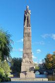 Karl XIV Johan monument in Orebro — Stock Photo