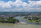 View of Koblenz, Germany — Stock Photo