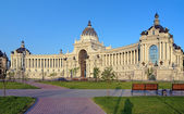 Palace of Farmers in Kazan, Republic of Tatarstan — Stock Photo