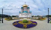 Omsk, rusya uspensky katedrali — Stok fotoğraf