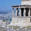 Stock Photo: Caryatid Porch of Erechtheion in Athens