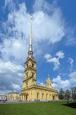 在俄罗斯圣彼得堡的彼得和保罗大教堂 — 图库照片