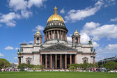 Saint Isaac Cathedral in St Petersburg, Russia — Stock Photo