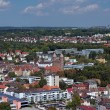 View on Ulm with Pauluskirche, Germany - Stock Photo