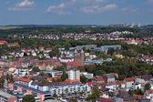 Zobacz na ulm z pauluskirche, niemcy — Zdjęcie stockowe