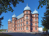Castle Gottesaue in Karlsruhe, Germany — Stock Photo