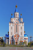 Assumption Cathedral in Khabarovsk, Russia — Stock Photo