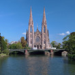 St. Paul Church in Strasbourg, France — Stock Photo