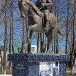Постер, плакат: Monument of Fedor Boborykin in Kineshma Russia