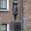 Monument of Anne Frank in Amsterdam — Stock Photo