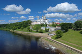 Assumption cathedral in Vitebsk, Belarus — Stock Photo