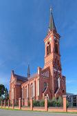 Kirche des hl. antonius von padua in pastawy, weißrussland — Stockfoto