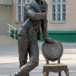 Постер, плакат: Monument of Ostap Bender in Melitopol Ukraine