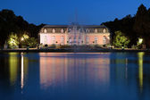 Benrath Palace in Dusseldorf at evening, Germany — Stock Photo