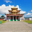 Main temple of Ivolginsky Datsan — Stock Photo