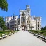 Castle Hluboka nad Vltavou, Czech Republic — Stock Photo #33177557