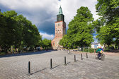 Turku Cathedral in Finland — Stock Photo
