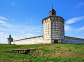 Mury i baszty biełozierskiego — Zdjęcie stockowe