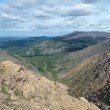 View from the Iov plateau, Northern Ural Mountains — Stock Photo #33293713