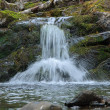 Small waterfall on Katayka river, Northern Ural Mountains — Stock Photo #33350239