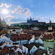 View of Prague Castle and Mala Strana — Stock Photo