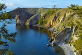Olkhon island on Baikal Lake — Stock Photo