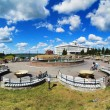 Recreation area in the center of Tomsk — Foto Stock