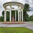 Stock Photo: Monument to wives of Decembrists in Tobolsk