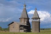 St. John Chrysostom church in Saunino village, Russia — Foto de Stock