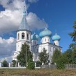 Church of Presentation of Lord in the village Rikasovo, Russia — Stock Photo