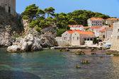 Dubrovnik bay, Croatia — Stock Photo