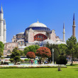The Hagia Sophia in Istanbul — Stock Photo