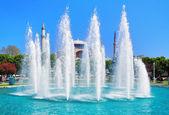 Fountain near the Hagia Sophia in Istanbul — Stock Photo