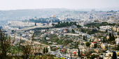 Panorama of the Old City of Jerusalem — Foto de Stock