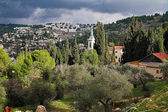 View of Gornensky Orthodox monastery, Israel — Foto de Stock