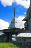 Wooden Architecture in Kizhi — Foto de Stock
